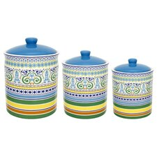 Algarve 3 Piece Canisters Set