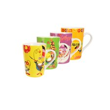 Kellogg's Froot Loops 4 Piece Mug Set