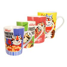 Kellogg's Tony the Tiger 4 Piece Mug Set