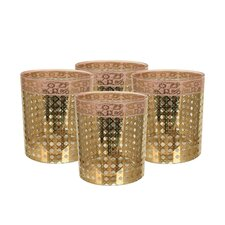 Patina Vie Cote D'Azur 15 oz. Rocks Glass (Set of 8)