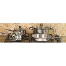 18/10 Stainless Steel 7-Piece Cookware Set