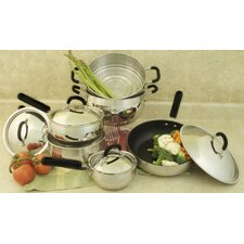 18/10 Stainless Steel 10-Piece Cookware Set