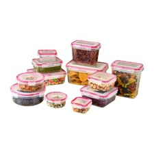 24-Piece Lock and Seal Food Storage Container Set