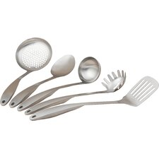 5 Piece Stainless Steel Professional Kitchen Tool Set