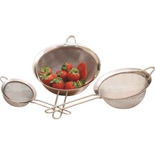 All Purpose 3 Piece Strainer Set