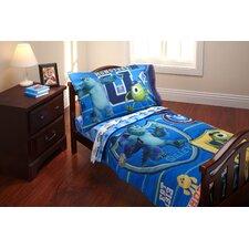 Monsters University 4 Piece Toddler Bedding Set