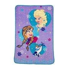 Frozen Magical Sister Toddler Blanket