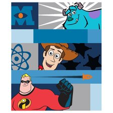 Pixar Filmstrip Fleece Throw
