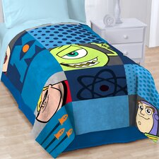 Pixar Filmstrip Fleece Throw Blanket