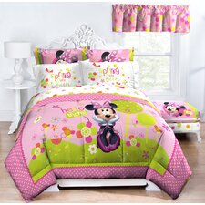 Minnie Bowtique Garden Party Twin Comforter
