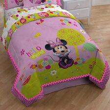 Minnie Bowtique Garden Party All Season Down Alternative Comforter