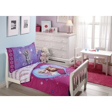 Disney Frozen 4 Piece Toddler Bedding Set