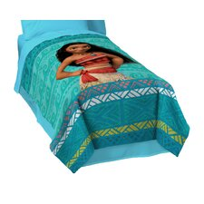 "Moana ""The Wave"" Twin Blanket"