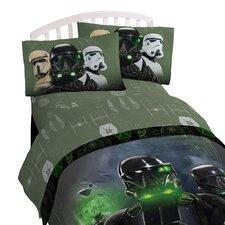 Star Wars Rouge 1 Imperial 3 Piece Deep Pocket Sheet Set