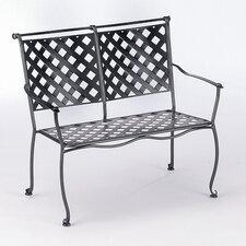 Maddox Wrought Iron Garden Bench