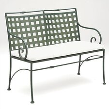 Sheffield Wrought Iron Garden Bench