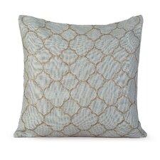 Intricate Burlap Throw Pillow