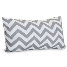 Chervon Indoor/Outdoor Lumbar Pillow