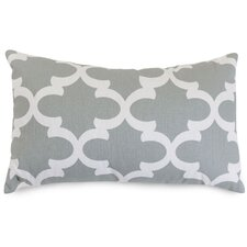 Trellis Cotton Lumbar Pillow