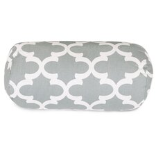 Trellis Round Cotton Bolster Pillow