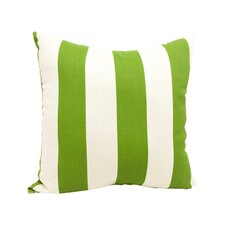 Beach Comber Throw Pillow in Black & White