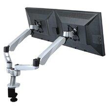 2 Screen Desk Mount Spring Arm Quick Release