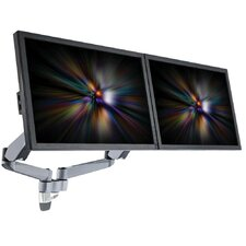 2 Screen Spring Arm Monitor Wall Mount