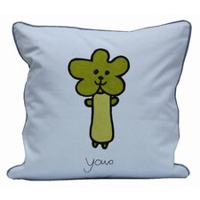 Friends on Your Pillow Friends on Your You-o Cotton Throw Pillow