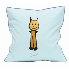 Friends on Your Pillow Friends on Your Sansi Cotton Throw Pillow