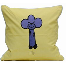 Friends on Your Pillow Friends on Your Meo Cotton Throw Pillow