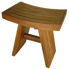 Asiana Teak Shower Stool