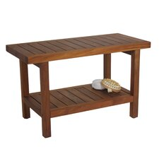 Spa Teak Shower Bench