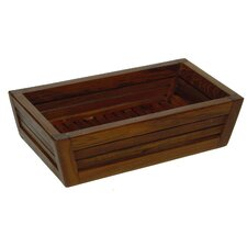 Teak Amenities Tray