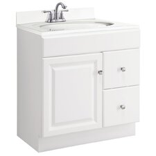 "Wyndham 30"" Single Bathroom Vanity Base"