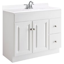 "Wyndham 36"" Single Bathroom Vanity Base"