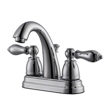 Hathaway Double Handle Centerset Standard Bathroom Faucet