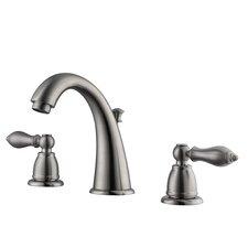 Hathaway Double Handle Widespread Standard Bathroom Faucet