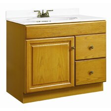 "Claremont 37"" Single Door Bathroom Vanity Set"