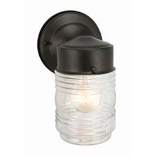Jelly Jar 1 Light Outdoor Wall Lantern