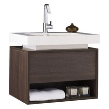 Recess 70cm Single Vanity Set