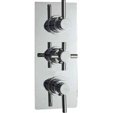 Tec Triple Concealed Shower Valve with Diverter