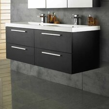 Quartet 144cm Double Vanity Set with Mirror