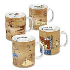 Assorted Science 15 Oz. Mug (Set of 4)