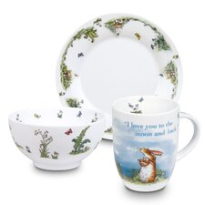 I Love You to the Moon and Back! Child's 3 Piece Dinnerware Set