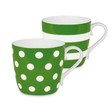 Dots and Stripes Mug (Set of 2)