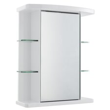 53cm x 66cm Surface Mount Mirror Cabinet
