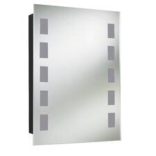 Argenta 50cm x 70cm Surface Mount Mirror Cabinet