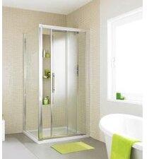 Apex 190cm x 109cm Sliding Shower Door