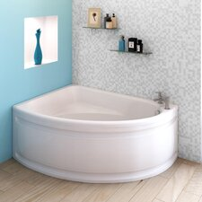 Pilot 149.5cm x 103cm Corner Soaking Bathtub