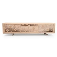 Wave Sideboard with Wheels